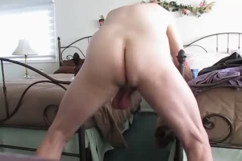 older man's Low Hangers. daddy Balls Swinging Back And Forth!