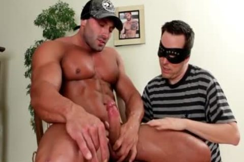 Muscle boy Sucked And cum In face hole.  knob Worship Paradise !