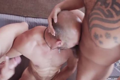 Double anal Penetration, Double blow job, 3some, Creampie