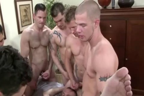 Dylan receives gangbanged By Muliple lascivious men