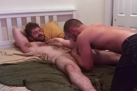 Verbal bushy daddy Tells Hookup he's going to Nut Inside