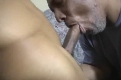 str8 Thug receives A oral-sex job