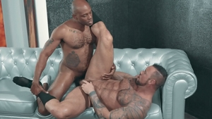 Noir Male - Osiris Blade together with Michael Roman anal sex