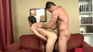 IconMale - Mature Lance Hart cock sucking