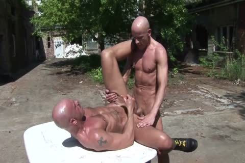 Bald, Booted And Very lascivious
