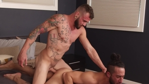 NextDoorRaw - Inked Xavier Cole wishes for plowing hard