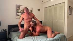 MenOver30.com - Hard ramming with Jacob Woods and Clay Towers