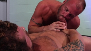 MenOver30: Hairy Riley Mitchel rimming sex tape
