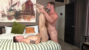 Dylan Lucas: Inked Timothy Drake wants hard ramming