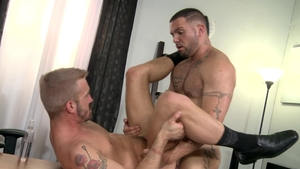 PrideStudios - Brunette Julian Knowles rimming video