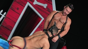 Hot House - Tight Beaux Banks loves huge dick daddy