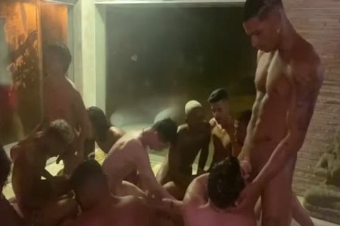 Italo And 9 large penises And Buzios fuckfest Conclusion