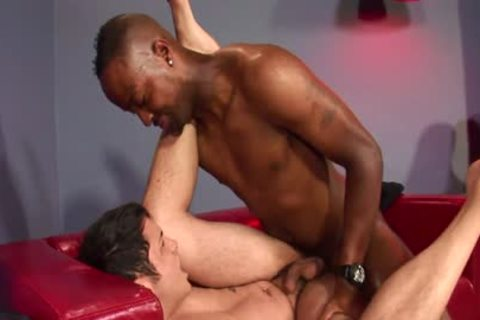 dark An White gay Porn With Dru Blake And Orion Cross